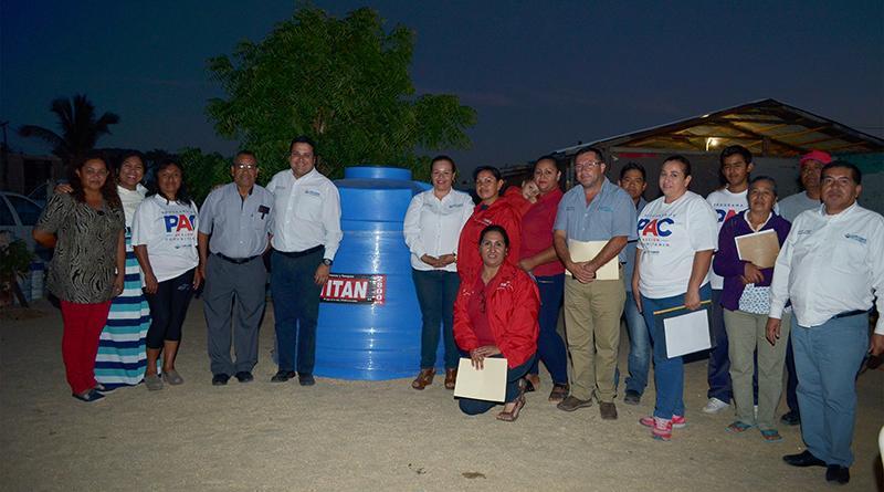 Delegado de CSL y delegada de CONAFE revisan problemática en colonia Azteca y Miranda