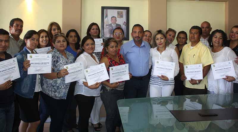 Se entregaron reconocimientos a 23 maestros del programa HÁBITAT