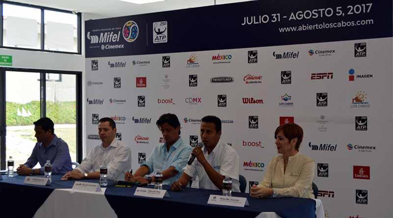 Apoyará Gobierno Municipal con logística y seguridad 2a Edición del Abierto Mexicano de Tenis Los Cabos 2017