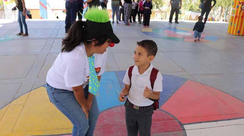 Participan 300 alumnos de zona escolar 23 en el circo de las matemáticas