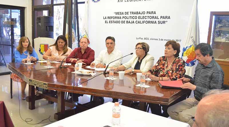 Respalda el INE el proceso de reformas a la Ley Electoral de BCS: Marco Antonio Baños Martínez