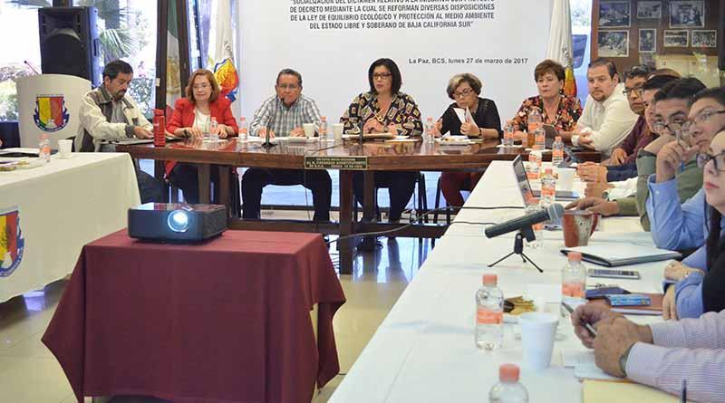 Buscan modificar la Ley del Equilibrio Ecológico y Protección al Ambiente de BCS