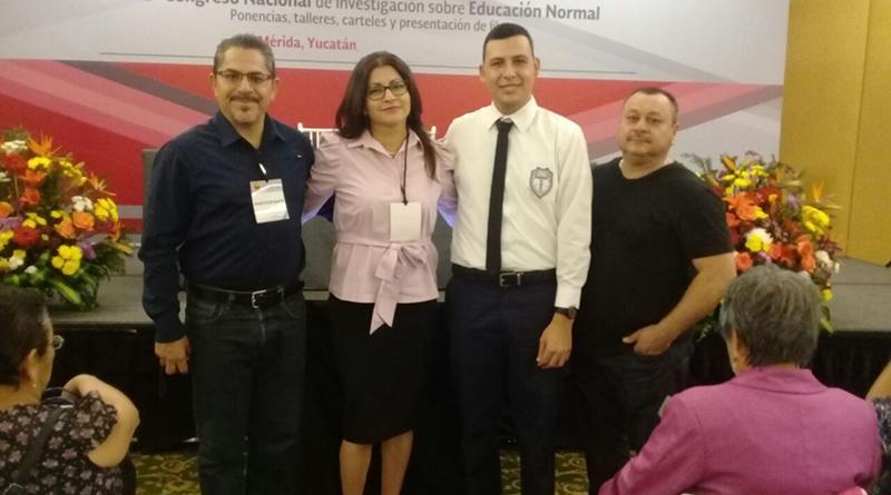 Destacan ponencias de tres normalistas de BCS en congreso nacional: SEP