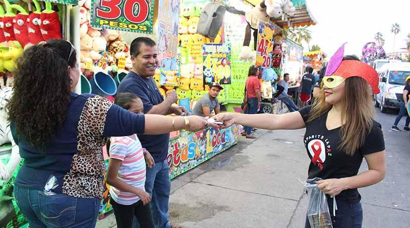 Alrededor de 17 mil condones distribuyó SSA de BCS durante carnaval La Paz 2017