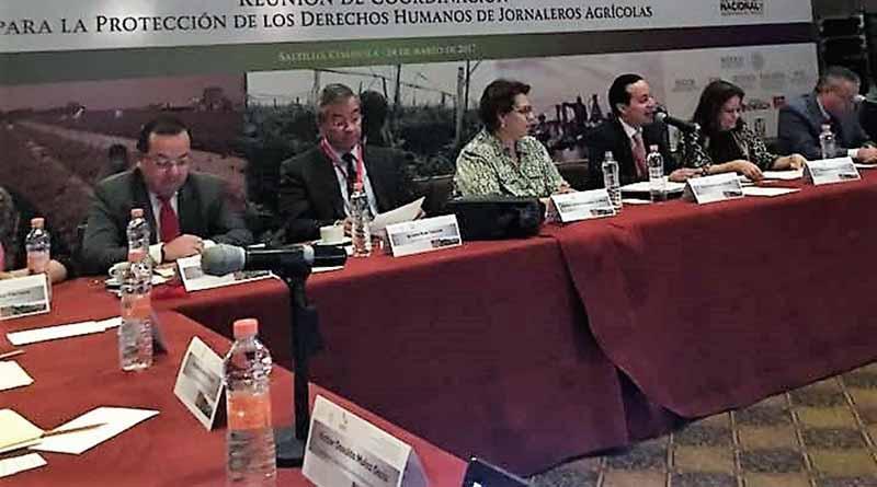 Baja California Sur participó en reunión de coordinación para la protección de los derechos humanos de trabajadores agrícolas