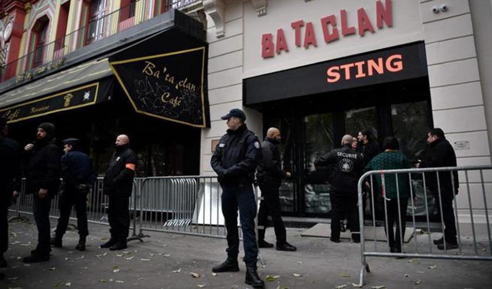 Servicios secretos franceses sabían en 2009 proyecto de ataque contra Bataclan