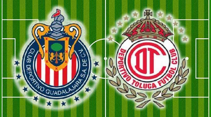 Guadalajara derrota 2-0 a Toluca y es nuevo líder del Clausura 2017