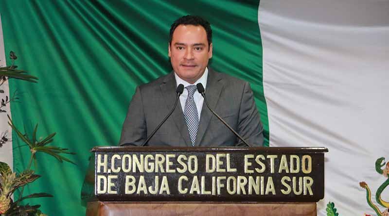 El Congreso del Estado espacio plural de la sociedad sudcaliforniana: Dip. Sergio García Covarrubias