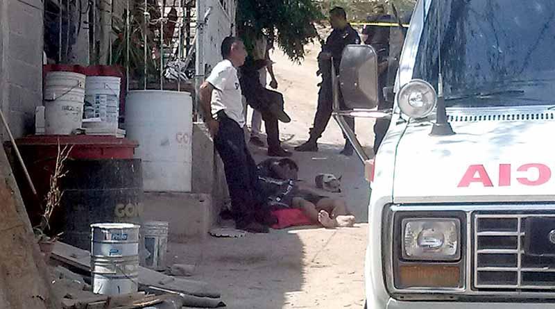 Acribillan a un hombre dentro de su casa en la colonia Ladrillera de La Paz