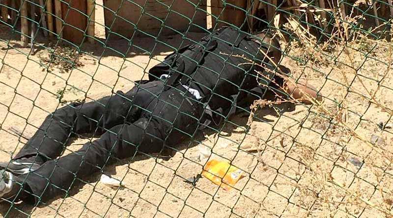 Confirma PGJE enfrentamiento con sicarios, uno murió y 6 fueron detenidos con armas y granadas