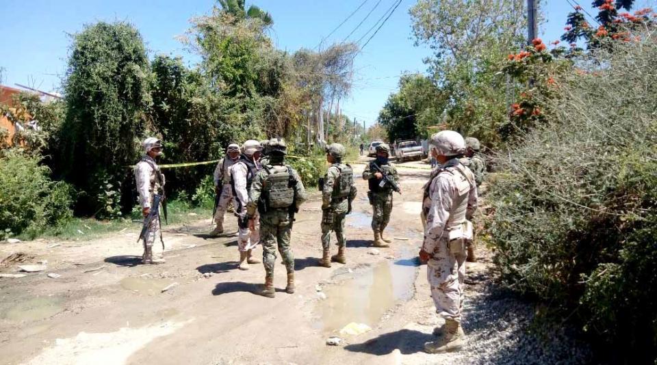 Enfrentamiento entre pistoleros y autoridades en el vado de Santa Rosa, habría un muerto y detenidos