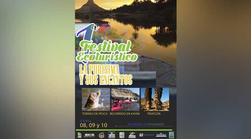Del 8 al 10 de Abril, 1er. Festival Ecoturístico La Purísima y sus Encantos
