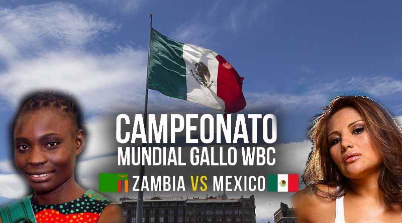 "Africana Catherine Phiri llega a México dispuesta a noquear a ""Barby"" Juárez"