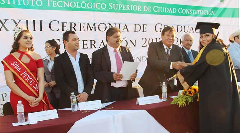 Ceremonia de Graduación del Instituto Tecnológico superior de Ciudad Constitución