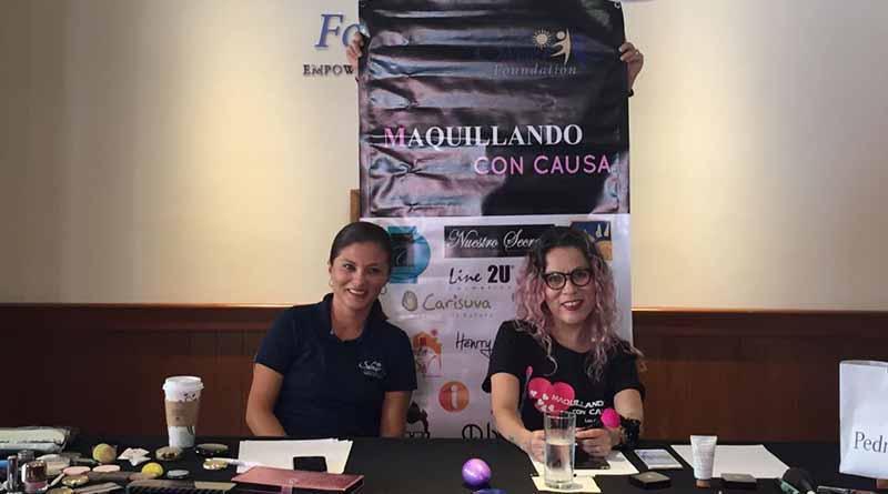 """Únete al """"Maquillatón"""" con Inky Cortez y Fundación Solmar"""