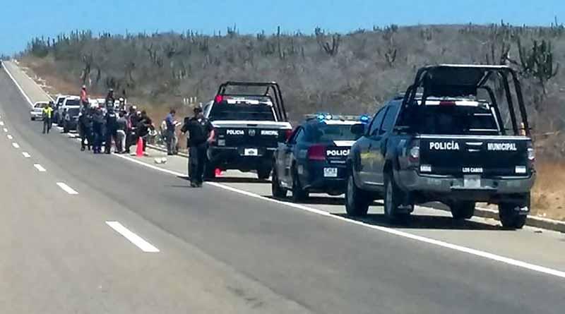 Reportan levantón frente a edificios de justicia y seguridad en Cabo San Lucas