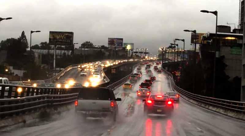 Vientos fuertes y potencial de lluvia se esperan en la mayor parte del país