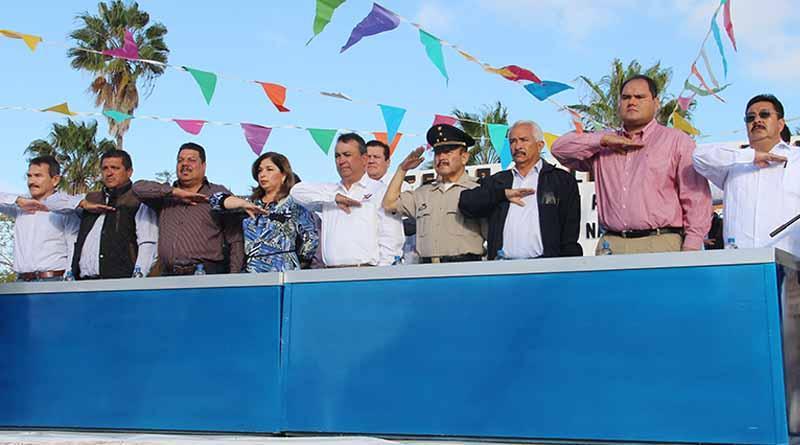Encabeza Alcalde Francisco Pelayo Conmemoración del Natalicio de Benito Juárez