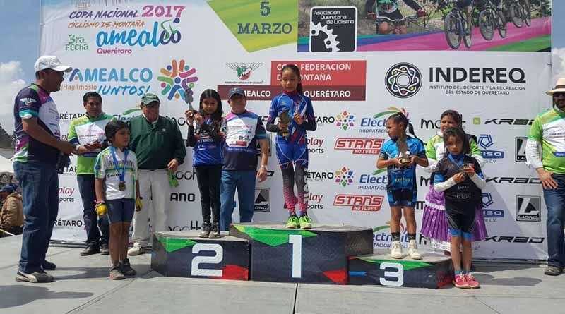 Nabienka García Campeona MTB en Querétaro