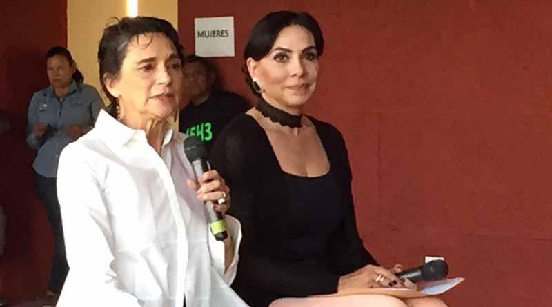 La actriz Ofelia Medina exhorta a exigir derechos, hombres y mujeres y no ser víctimas del sistema
