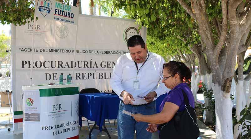 PGR refuerza acciones de prevención del delito en Santiago