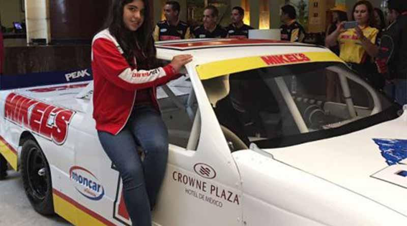 Regina Sirvent, piloto de NASCAR PEAK México Series, debutará en deporte dominado por hombres