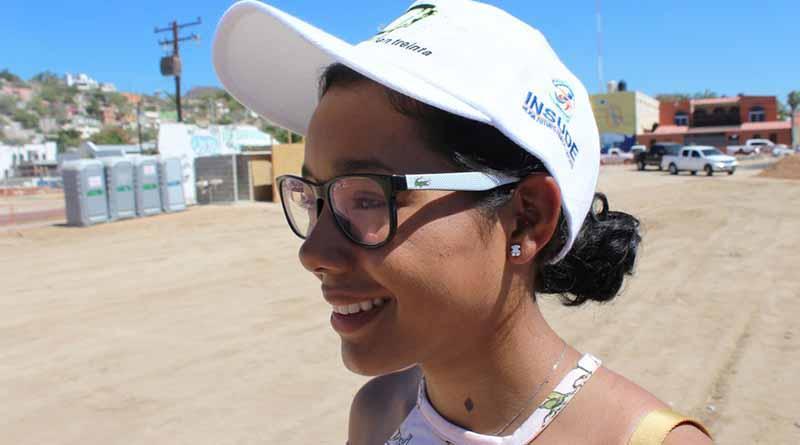 Zayetzi García al Panamericano de MTB en Colombia