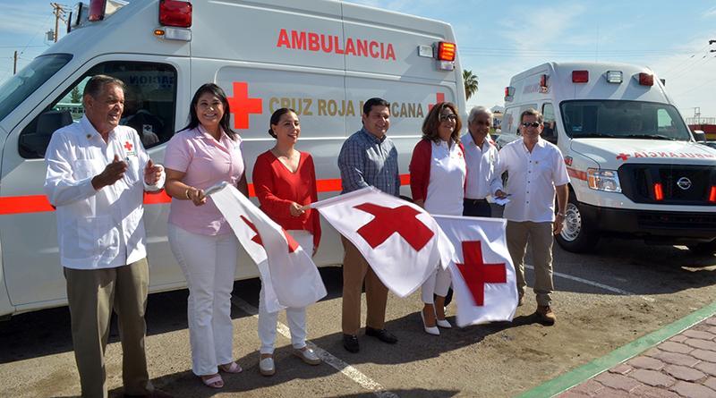 En delegación municipal de CSL inicia con  banderazo oficial, colecta nacional de Cruz Roja