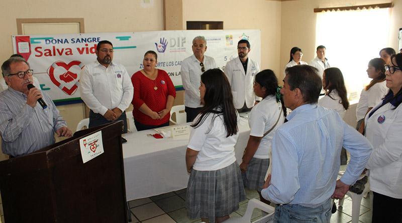 """Se realizó la 2ª. Campaña de donación de sangre """"Dona Sangre, Salva Vidas"""" en La Ribera"""