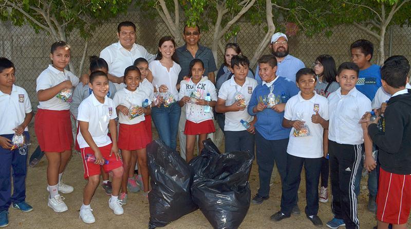 """Programa """"Plantando El Cambio"""" llega a la escuela Primaria Ramón Green"""