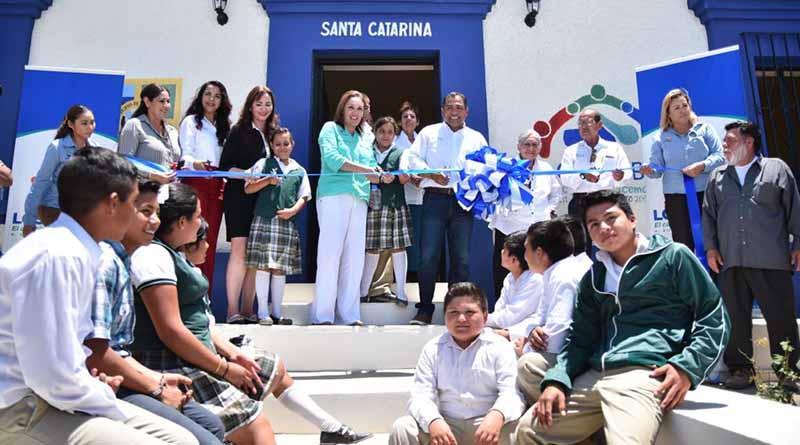 """Para servicio a la comunidad estudiantil, se entregó biblioteca digital """"Guillermo Burgoin Castro"""""""