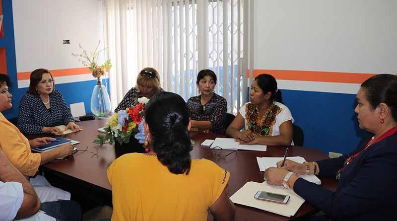 Se llevó a cabo reunión de trabajo del Instituto Municipal de la Mujer, la Diputada Diana Von Borstel y la Asociación de Mujeres Indígenas AMIA