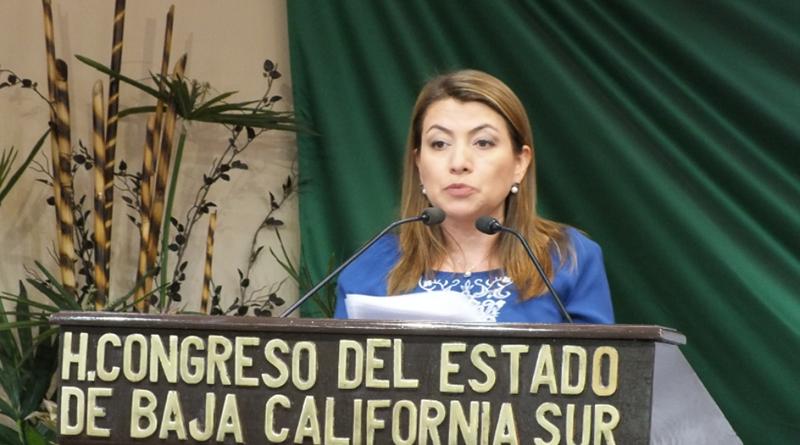 BCS Se consolida como un estado democrático, con economía sólida: Dip Guadalupe Saldaña Cisneros