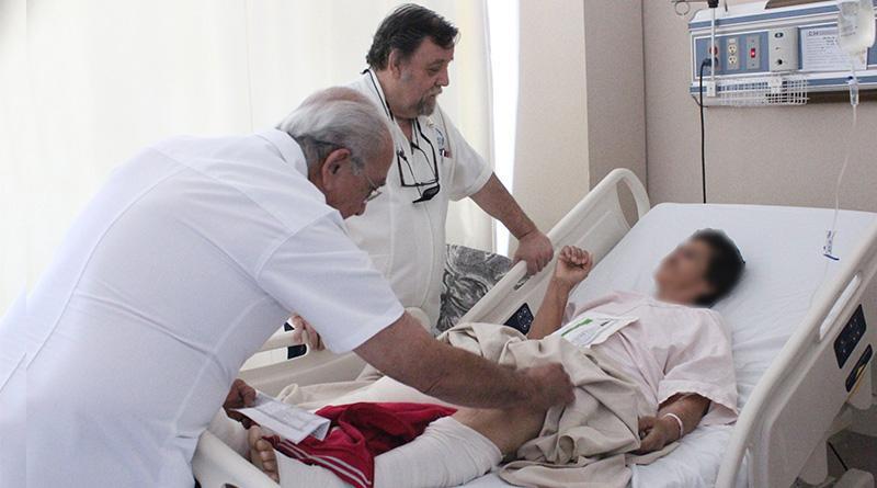 Mediante jornadas protésicas SSA de BCS ofrece una mejor vida a pacientes con movilidad limitada