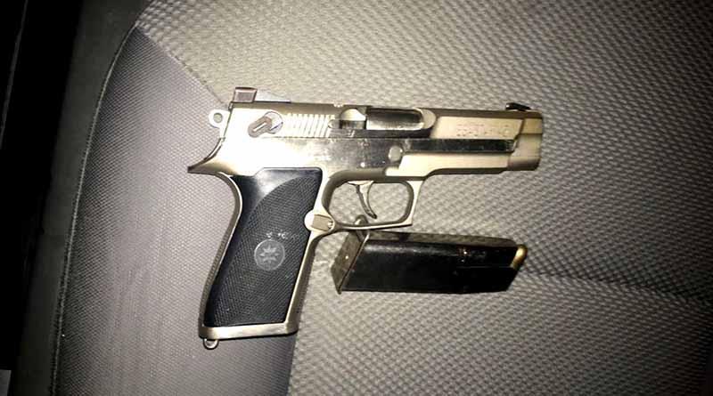 Detienen a cuatro sospechosos con armas de fuego en el arroyo de El Tule