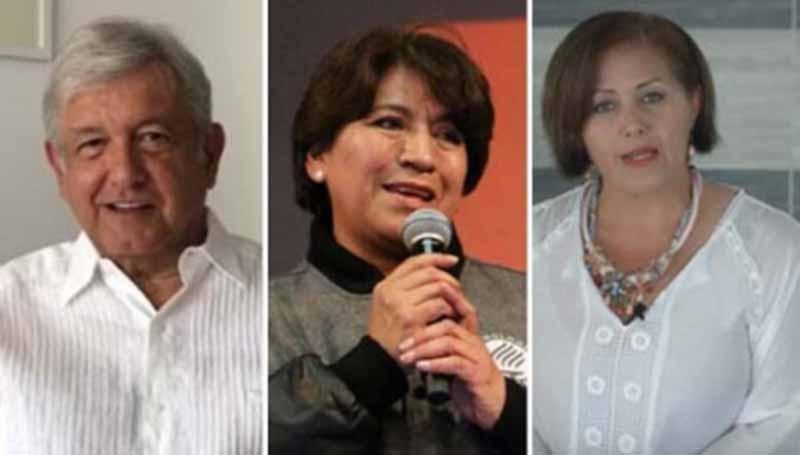 PAN denunciará penalmente a AMLO, Delfina Gómez y Eva Cadena por peculado