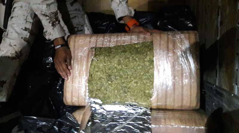 Ante PGR detenido por traslado de 2 toneladas de marihuana en Pichilingue