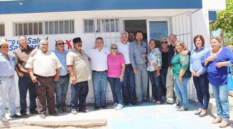 Alcalde Francisco Pelayo Inaugura Consultorio Médico en San Carlos que Dará Atención  Gratuita