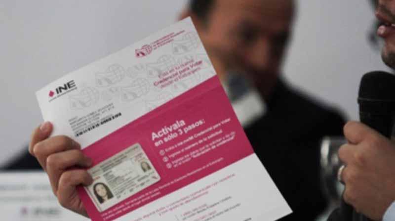 INE recibe más de 300 mil solicitudes de credenciales desde el extranjero