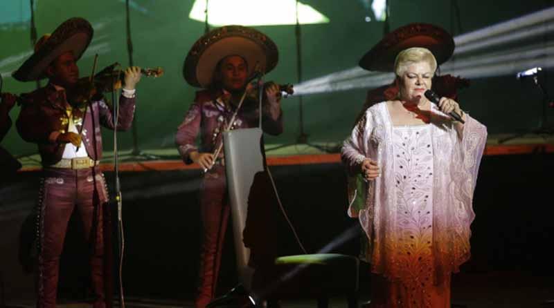 Los Rieleros del Norte y Paquita la del Barrio actuarán juntos en Los Ángeles