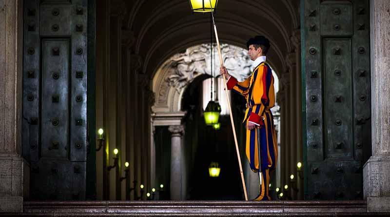 Fuerzas de seguridad blindan el Vaticano de cara a la Semana Santa