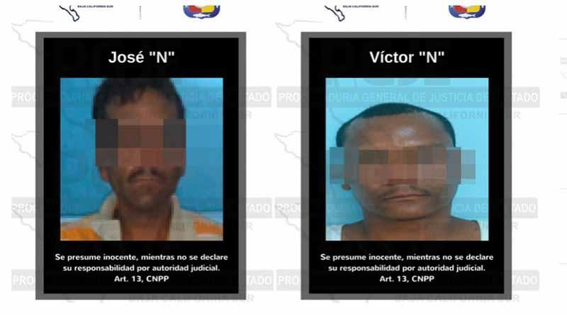 Detienen a dos sujetos en posesión de 788 dosis de cristal en El Zacatal