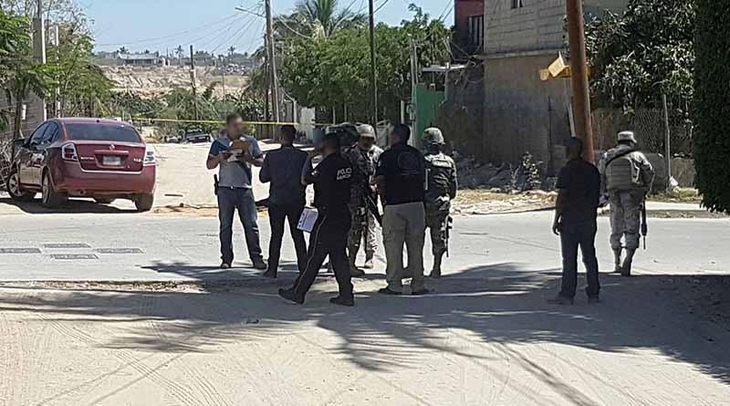 Acribillan carro en El Zacatal, muere mujer