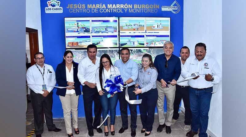 Are pone en marcha el centro de control y monitoreo de agua potable de Los Cabos