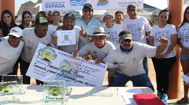 Exitoso torneo de pesca deportiva en el CARDONAL