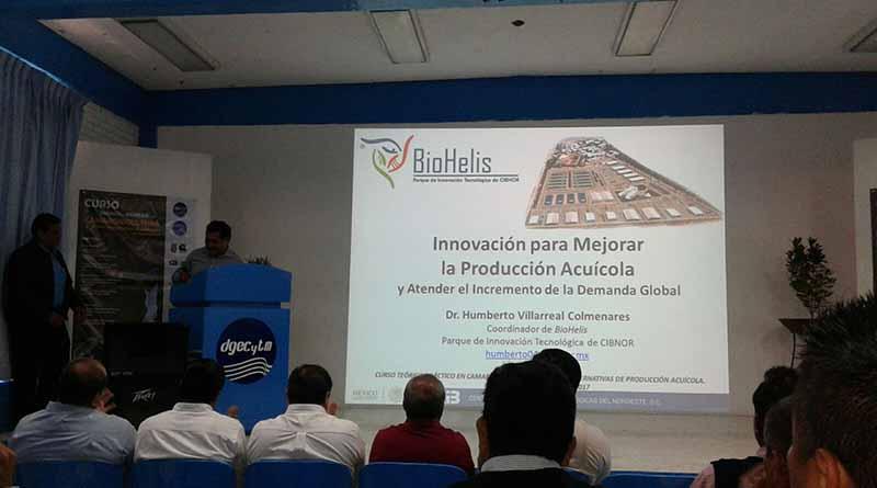 CETMAR La Paz inicia curso nacional de camaronicultura