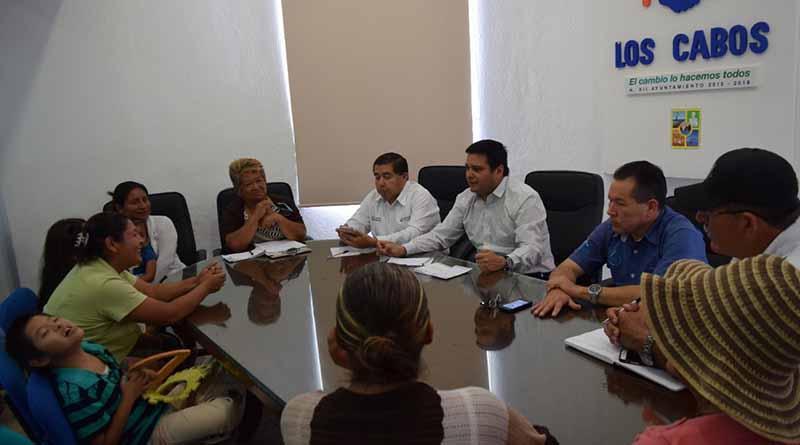 Delegado Municipal coordina trabajos de los comité del programa de Acción Comunitaria