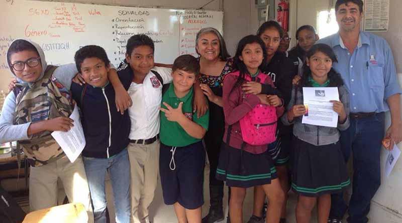 Continúa Instituto de las mujeres impartiendo talleres en las escuelas del municipio