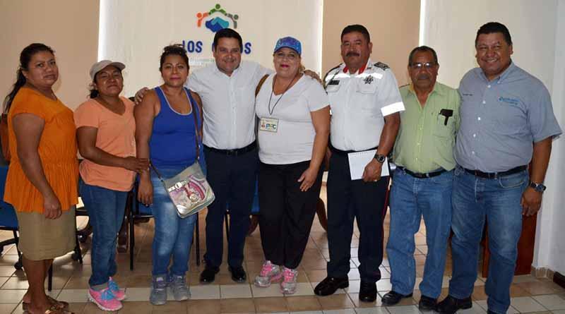 Delegado de CSL coordina trabajos de los comités del programa Acción Comunitaria