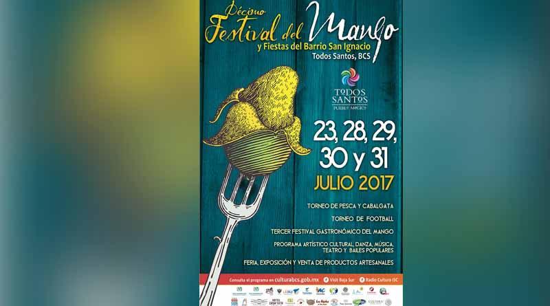 Inician los preparativos del  festival del mango y fiestas del barrio de San Ignacio 2017 en Todos Santos